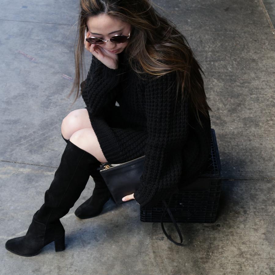 black-knit-cozy-jumper